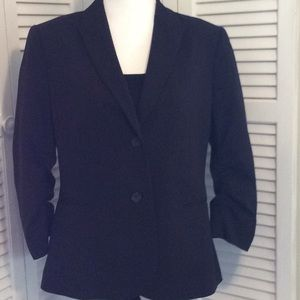 Calvin Klein Boyfriend 2 Button Blazer Black.